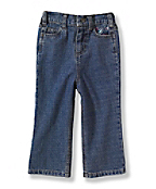 Infant Girls Washed 5-Pocket Denim Jean
