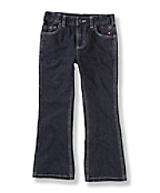 Girls Washed 5-Pocket Denim Jean