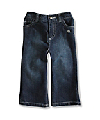 Infant/Toddler Girl�s Washed 5-Pocket Denim Jean