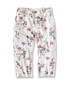 GIRL'S PRINTED CROP PANT