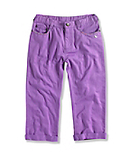 GIRL'S ROLL UP CROP PANT