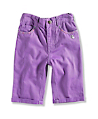 INFANT GIRL'S ROLL UP CROP PANT
