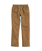 Girls' Washed Microsanded Canvas Pant