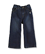Infant Toddler Girl's Washed 5-Pocket Denim Jean