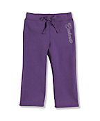 Infant Toddler Girl's Brushed Fleece Pant