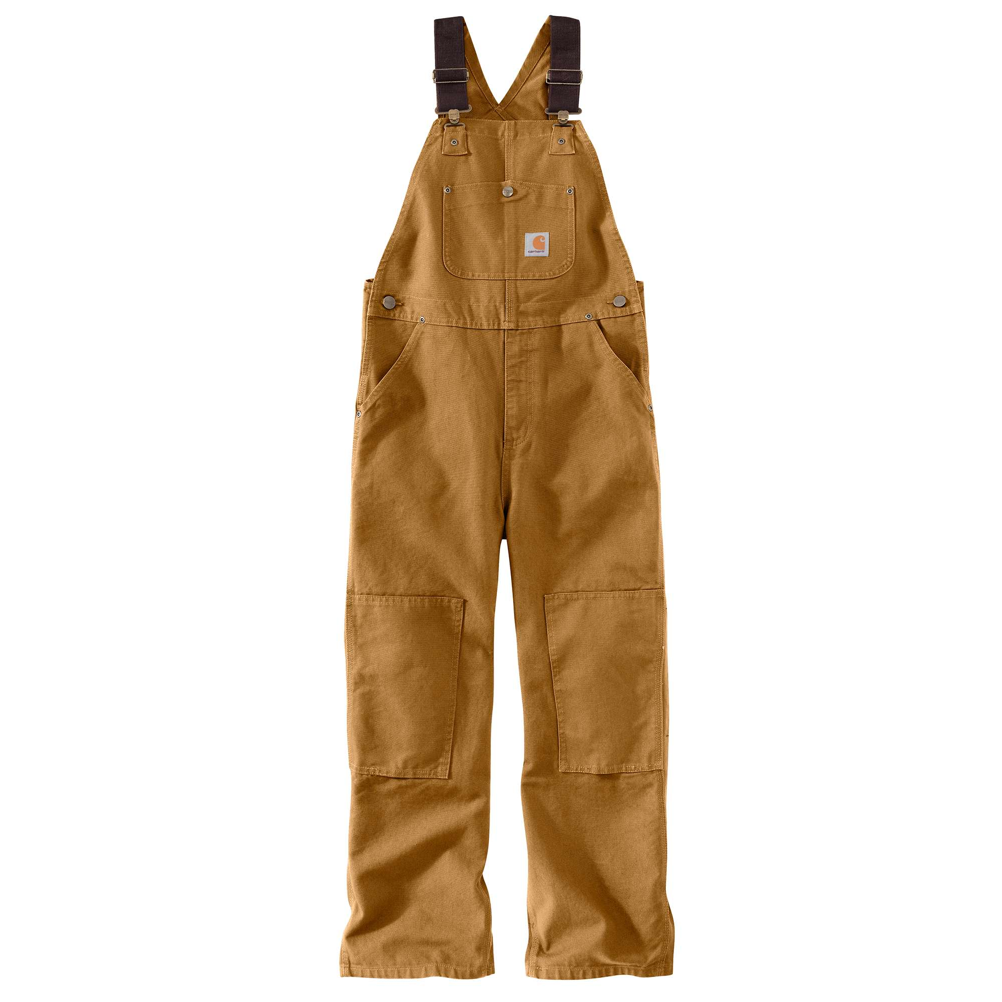 Carhartt Duck Washed Bib Overall Sizes 8-16