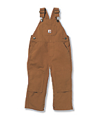 Boys' Washed Bib Overall