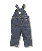 Kids' Washed Bib Overall