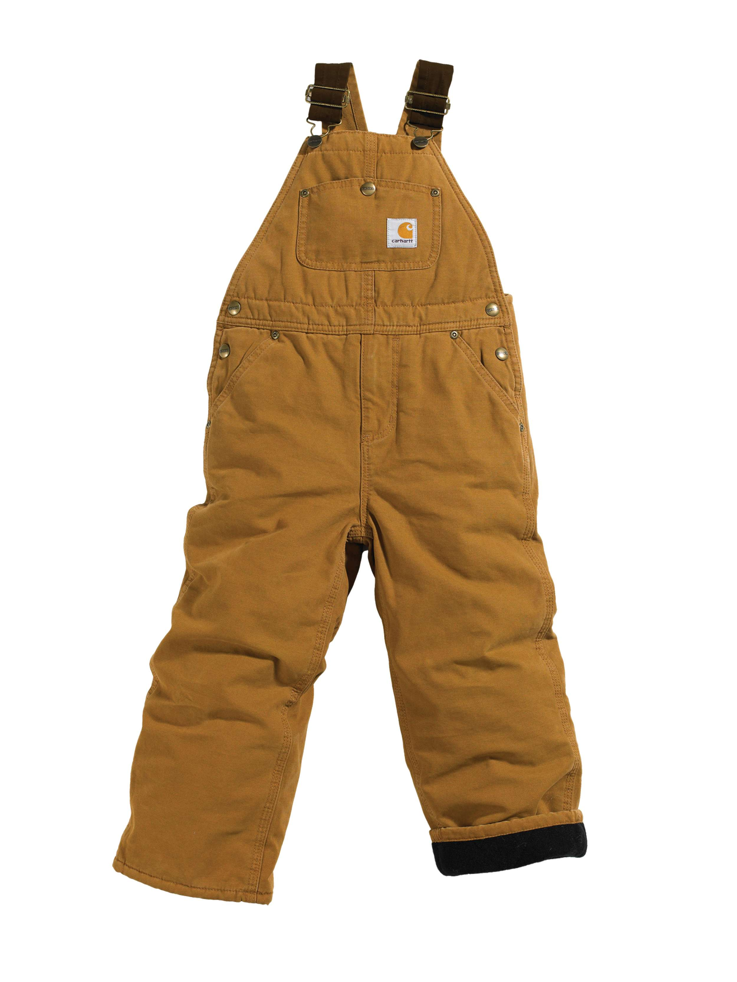Carhartt Duck Overall Quilt-Lined Sizes 8-16