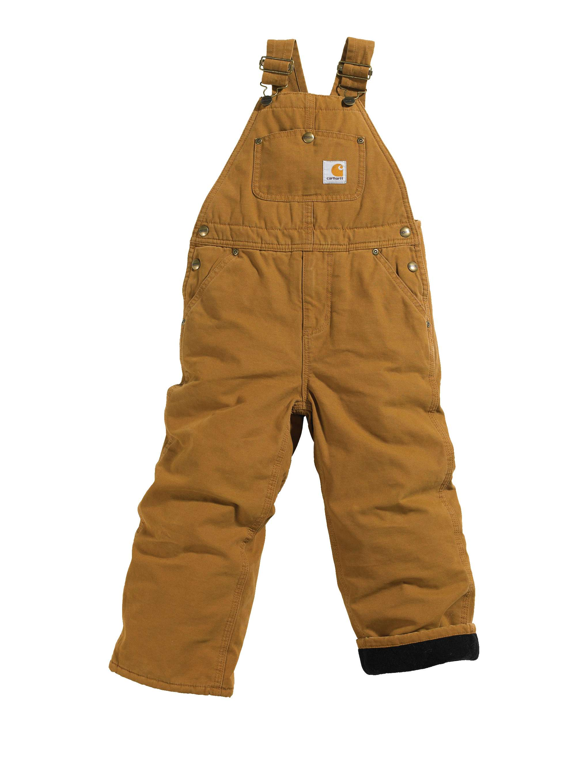 Carhartt Canvas Overall Quilt-Lined Sizes 4-7