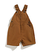 Boys Infant/Toddler Washed Canvas Bib Shortall