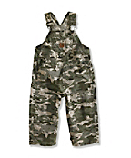 Infant/Toddler Boy�s Washed Ripstop Bib Overall