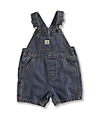 INFANT BOY'S DENIM SHORTALL