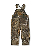 Infant Toddler Boy's Washed Realtree Xtra® Bib Overalls