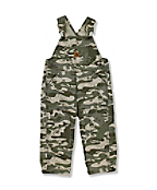 Infant Toddler Boy's Washed Ripstop Bib Overall