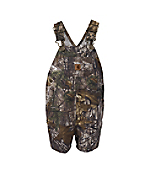 Infant Toddler Boys' Washed Work Camo Ripstop Bib Shortall