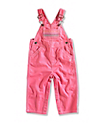 INFANT GIRL'S CANVAS OVERALL