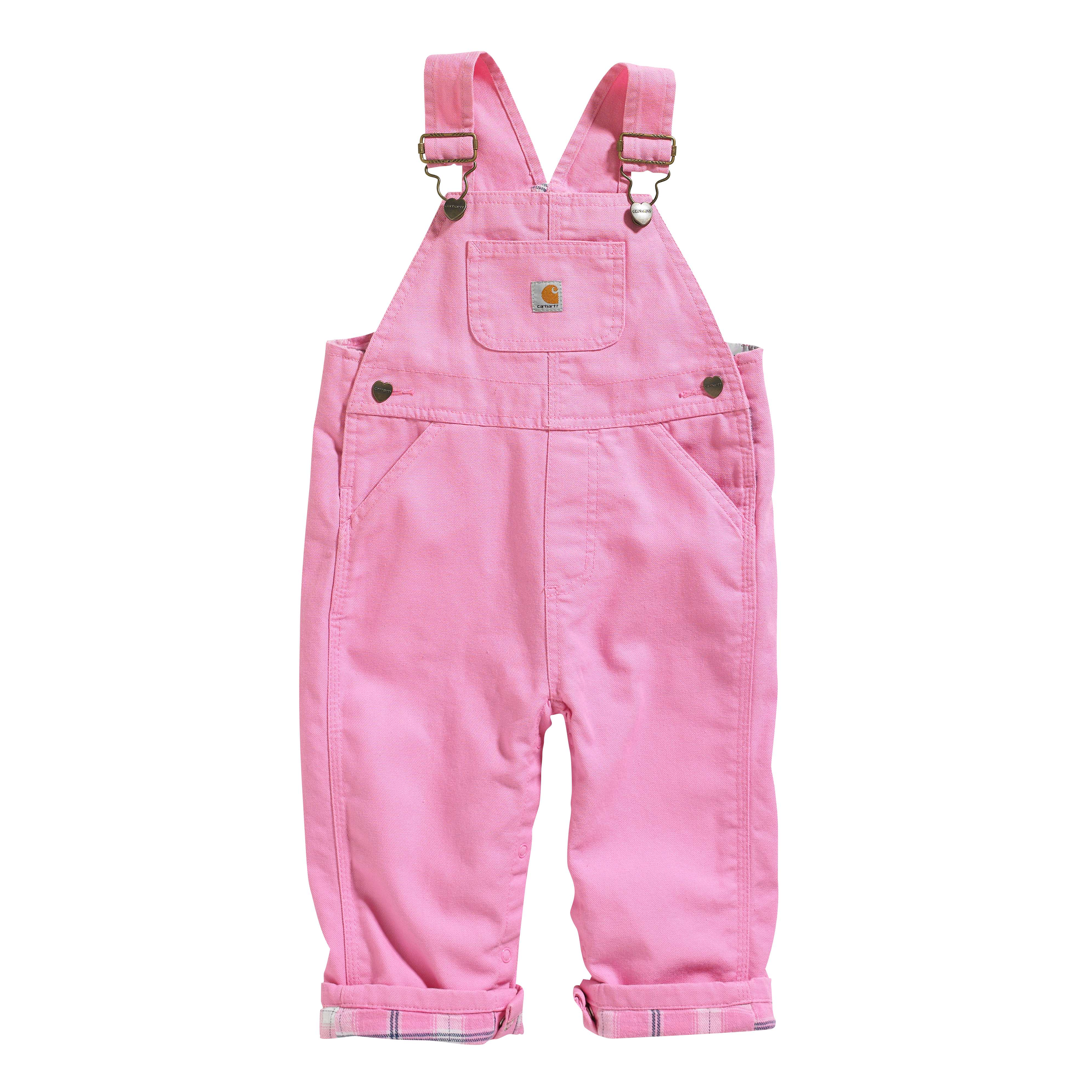 Carhartt Canvas Overall Flannel-Lined