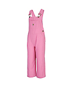 Girl's Washed Microsanded Canvas Bib Overalls