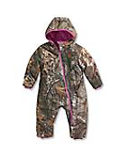 Infant/Toddler Girls' Camo Snowsuit