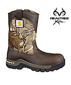 Men's 10-inch Brown & Camo WorkFlex® /Non-Safety Toe