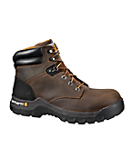 Men's 6-Inch Brown Rugged Flex™ Work Boot /Non-Safety Toe