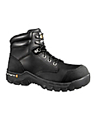 Men�s 6-Inch Black Rugged Flex Waterproof Composite Toe�Boot�