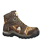Men's 6-inch Brown & Camo Rugged Flex™ /Composite Toe