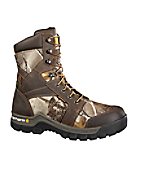 Men's 8-inch Brown & Camo Rugged Flex™/Non-Safety Toe