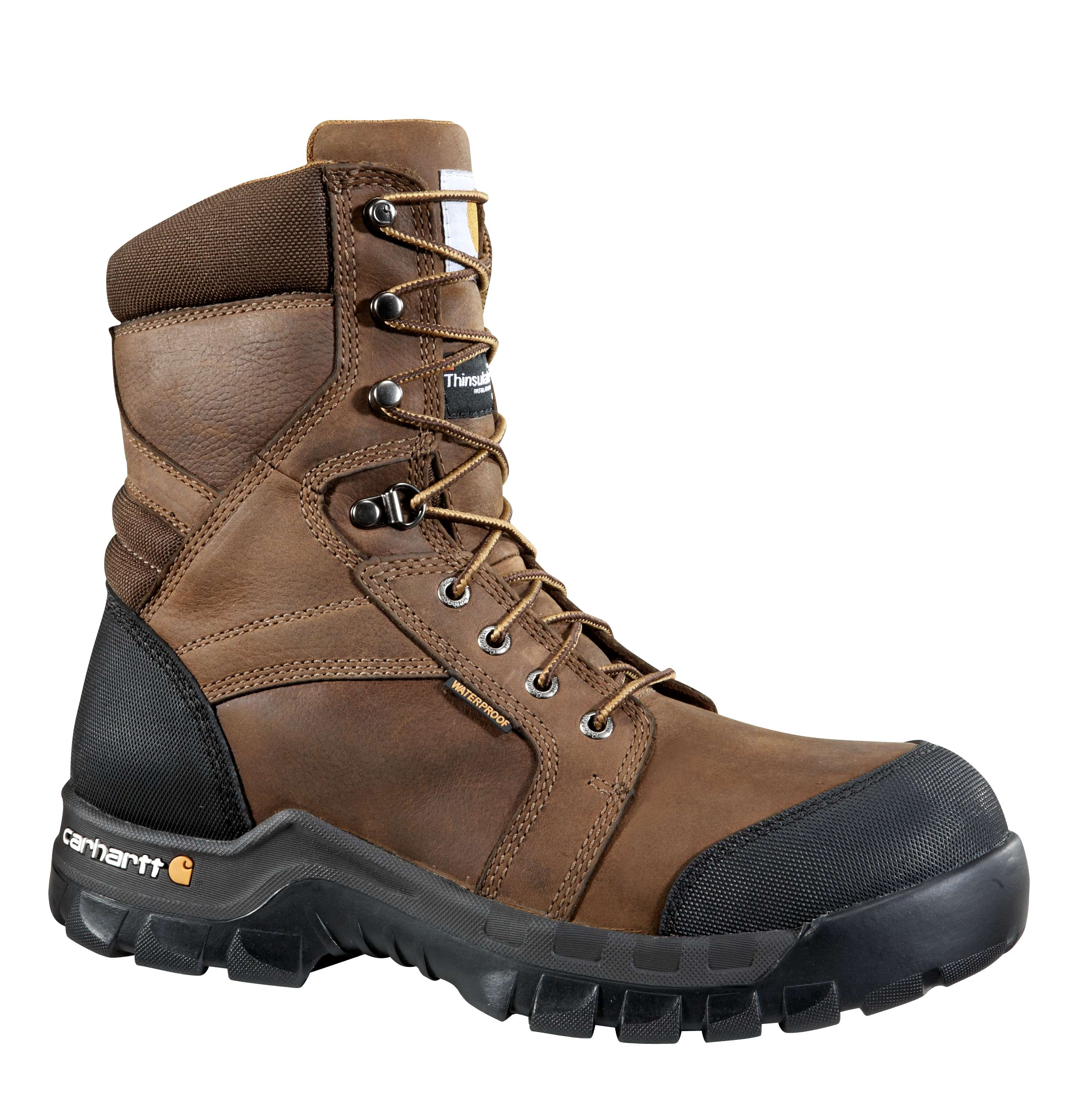 Rugged Flex 8-Inch Insulated Composite Toe Work Boot