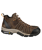 Men's Lightweight Brown Waterproof Work Hiker/Composite Toe