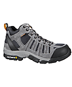 Men's Lightweight Hiker Grey/Blue Waterproof Work Hiker/Composite Toe