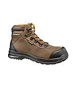 Men's 6-Inch Stomp Light (TM) Bal Brown Waterproof Work Boot/Composite Toe