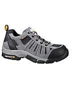 Men's Lightweight Low Hiker Grey/Blue Waterproof Work Hiker /Non-Safety Toe