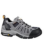 Men's Lightweight Low Hiker Grey/Blue Waterproof Work Hiker/Composite Toe
