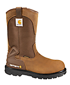 Men's 11-Inch Bison Waterproof Work Boot/Non-Safety