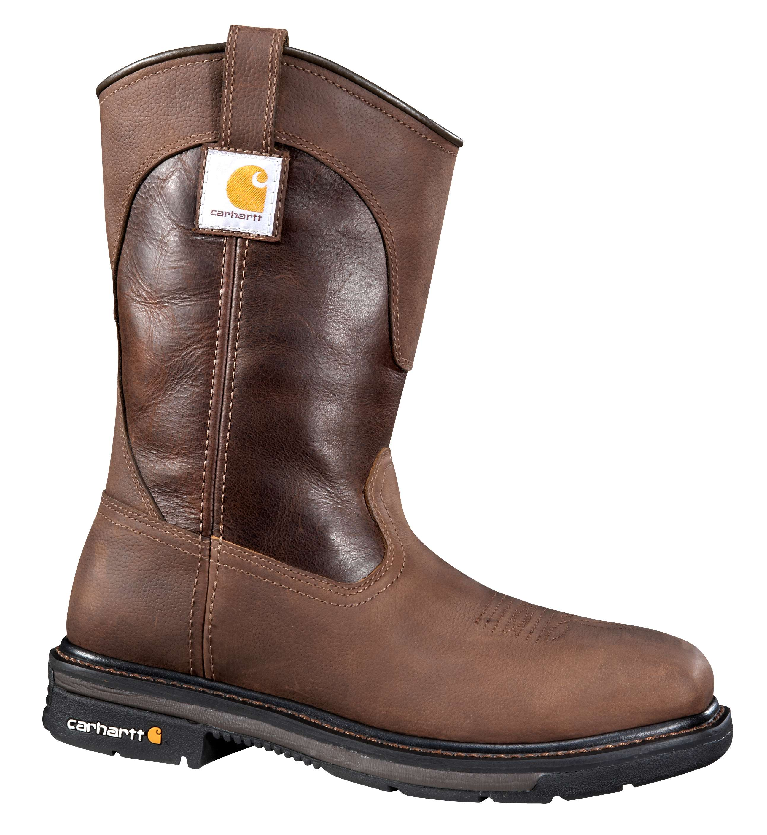 Carhartt 11-inch Square Steel Toe Wellington Boot