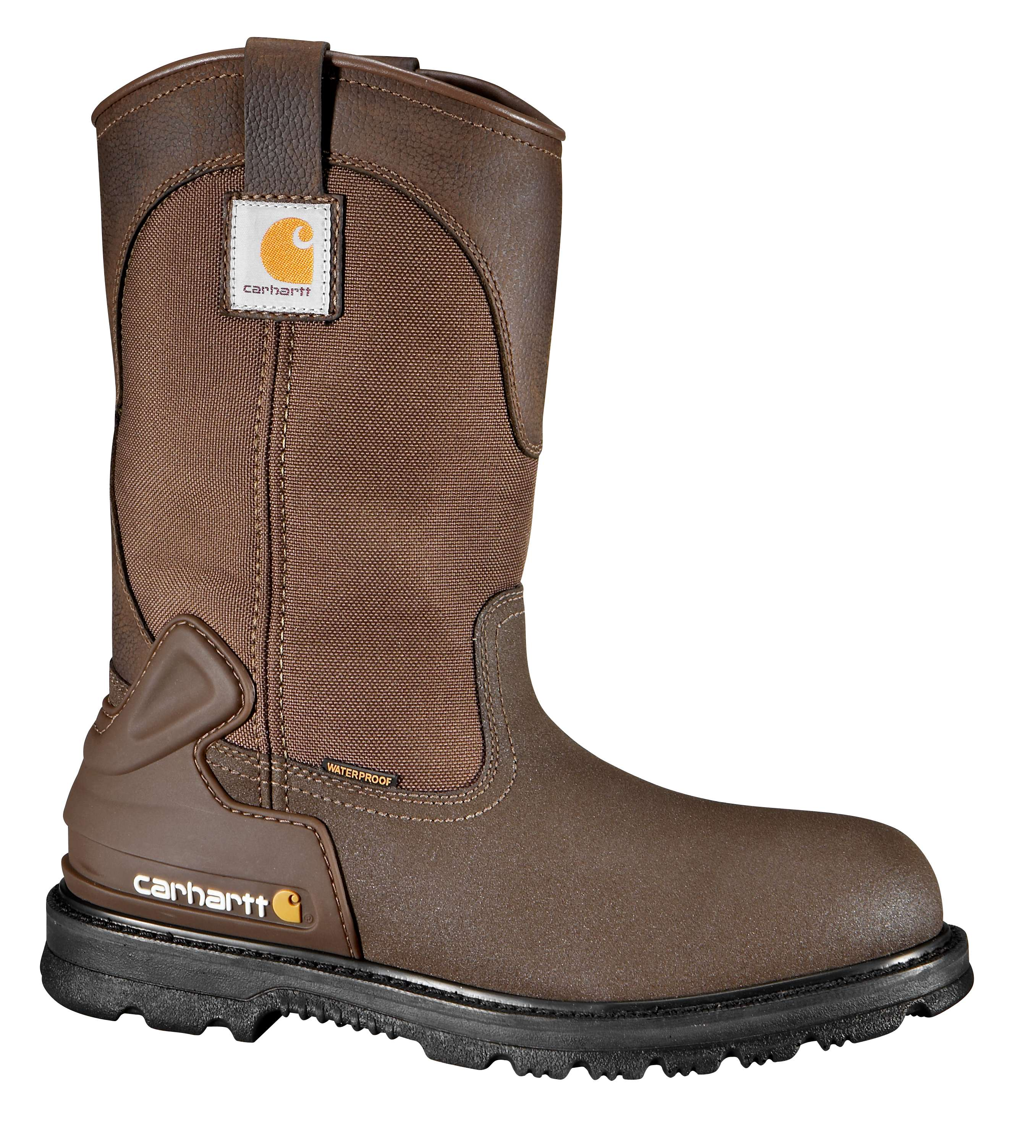 11-Inch Steel Toe Wellington Boot