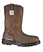 Men's 11-Inch Bison Waterproof Mud Wellington/Safety Toe