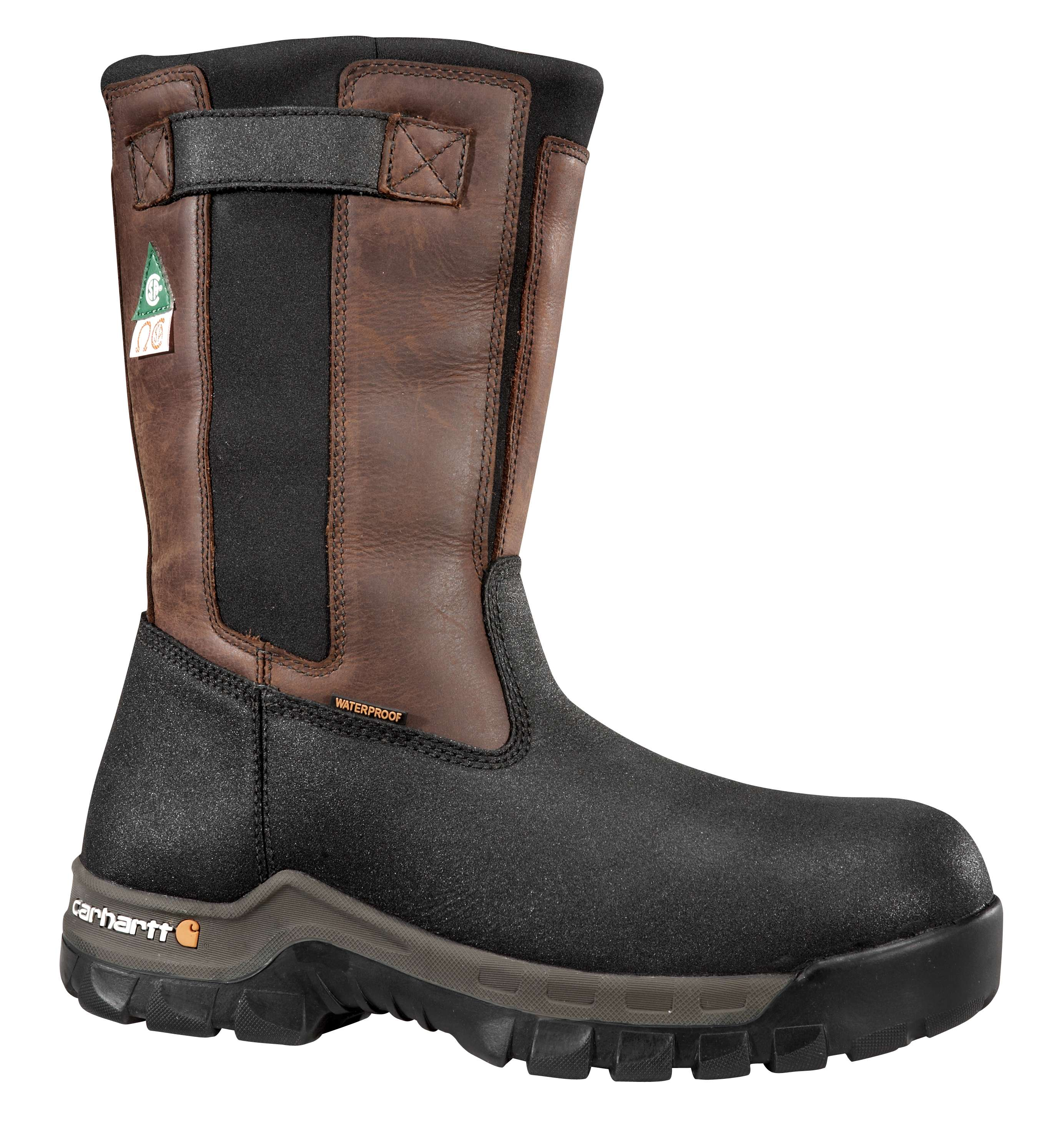 Carhartt Rugged Flex 10-inch Insulated Composite Toe Csa Wellington Boot