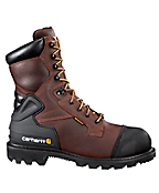 Men's 8-Inch Brown CSA Boot/Safety Toe