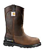Men's 11-Inch Unlined Steel Toe Wellington Boot