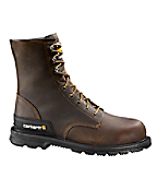 Men's 8-Inch Unlined Work Boot/Safety Toe