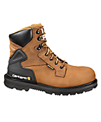 Men's 6-Inch Bison Waterproof Work Boot/Safety Toe