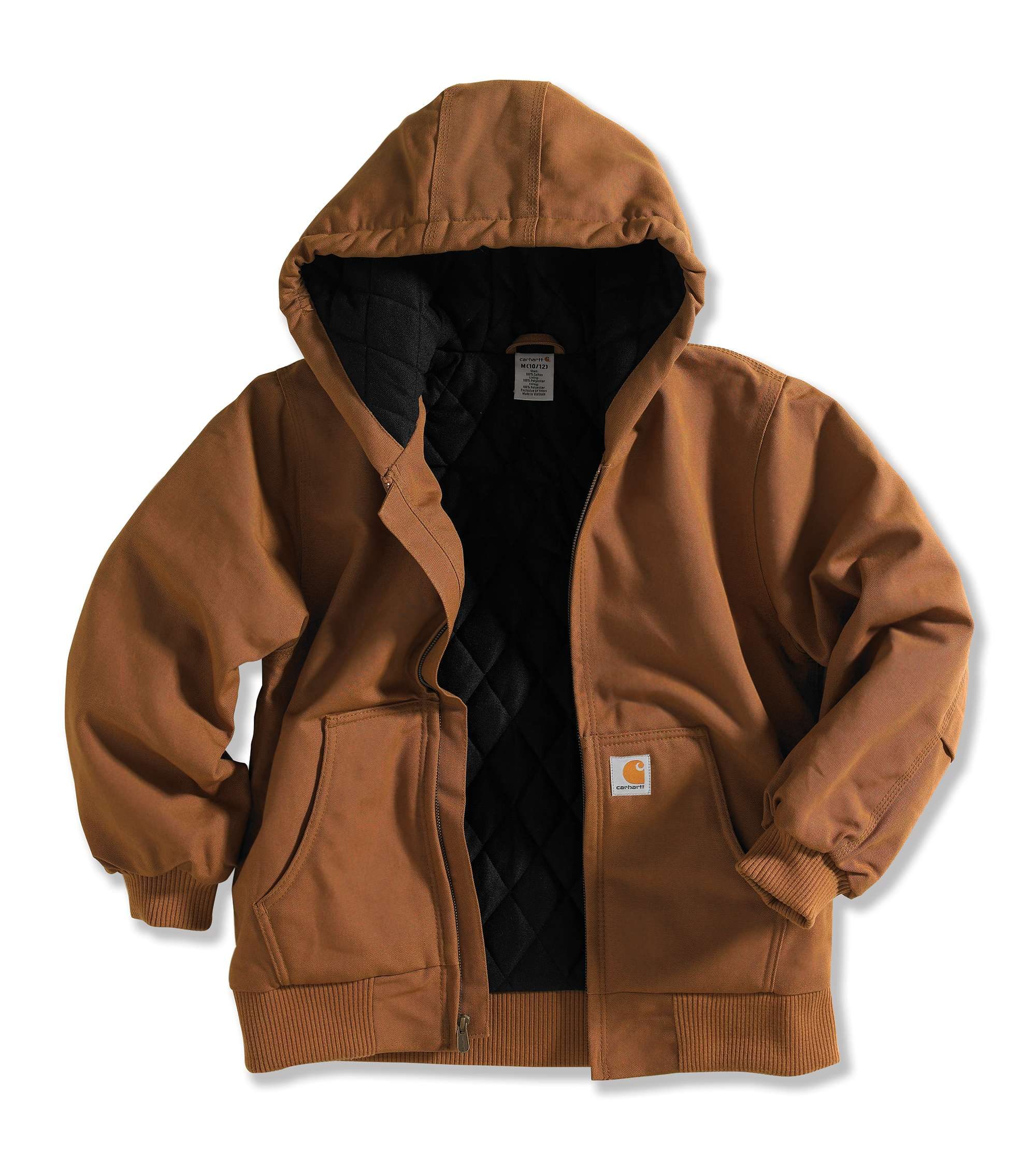 Carhartt Active Jac Flannel Quilt-Lined