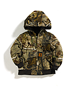 Boys Camo Active Jacket