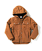 Boy's Rancher Jacket � Quilted-Flannel Lined