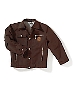 Boy's Motor City Coat � Sherpa Lined