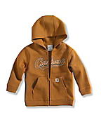Infant Boy's Logo Fleece Zip-Front Sweatshirt