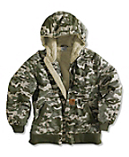 Boy�s Blue Ridge Camo Jacket